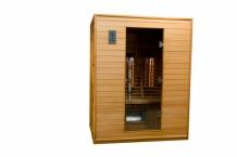 3 Persoons infrarood sauna 150 DVS Dual