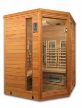 3-4 Persoons hoek infrarood sauna 140 DVS