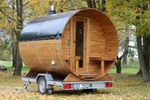 Verhuur barrel sauna