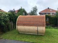zijkant Schooner sauna