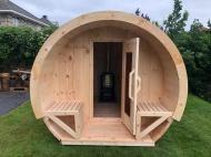 binnen Schooner sauna